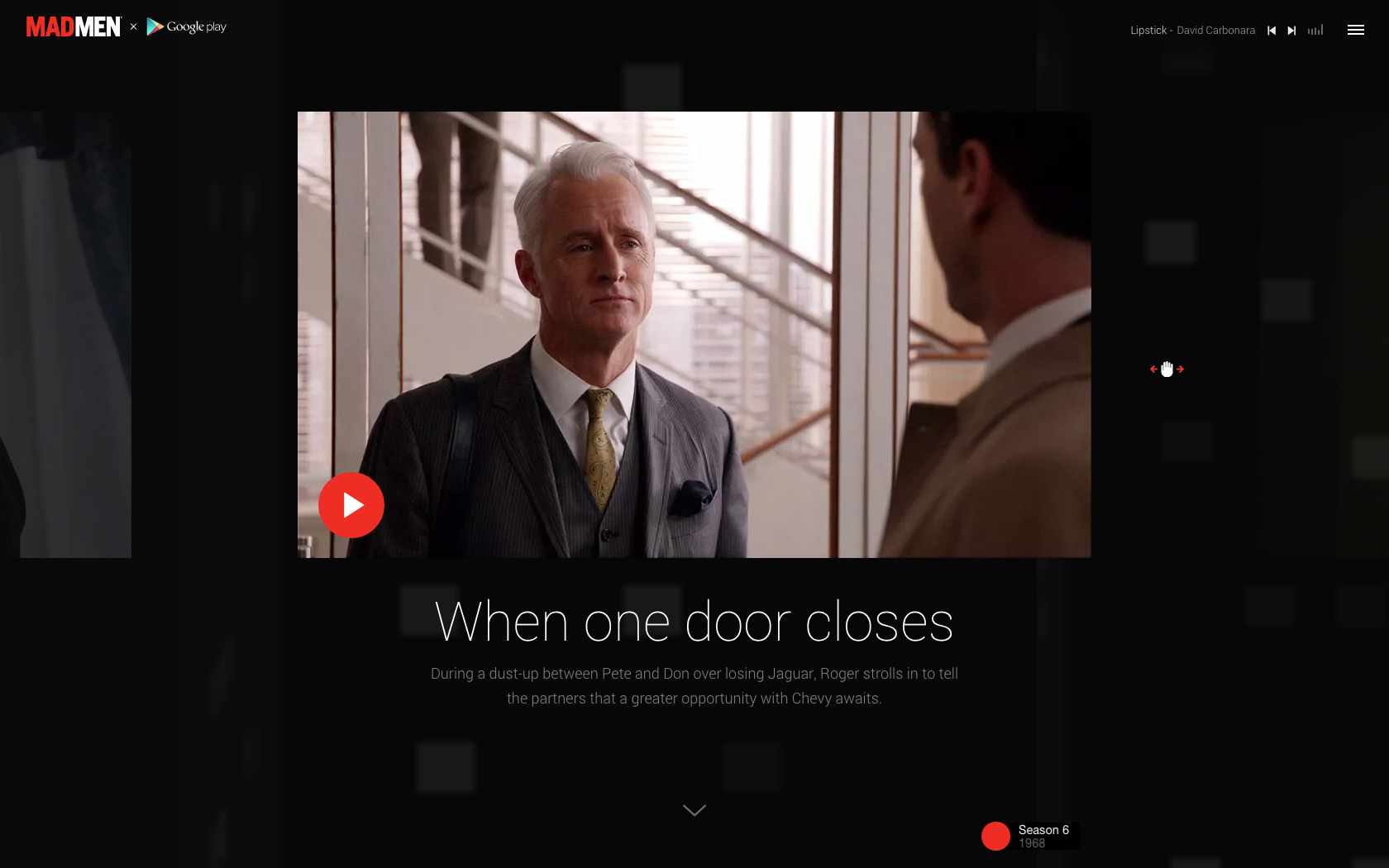 The Mad Men Experience La Retrospective Interactive Sur Google Play