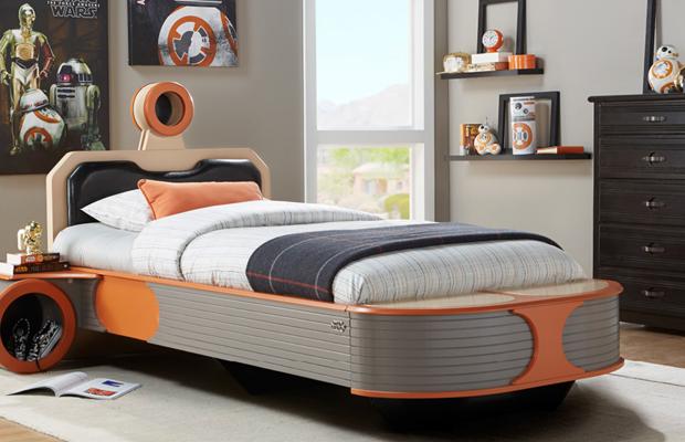 vos kids vont vouloir ces meubles star wars dans leur. Black Bedroom Furniture Sets. Home Design Ideas