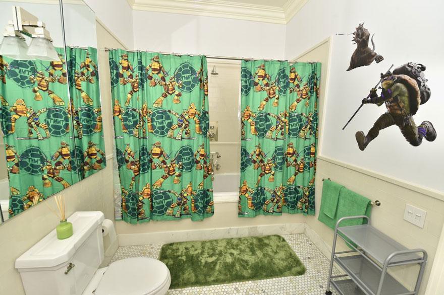 le qg des tortues ninja louer sur airbnb spotern. Black Bedroom Furniture Sets. Home Design Ideas
