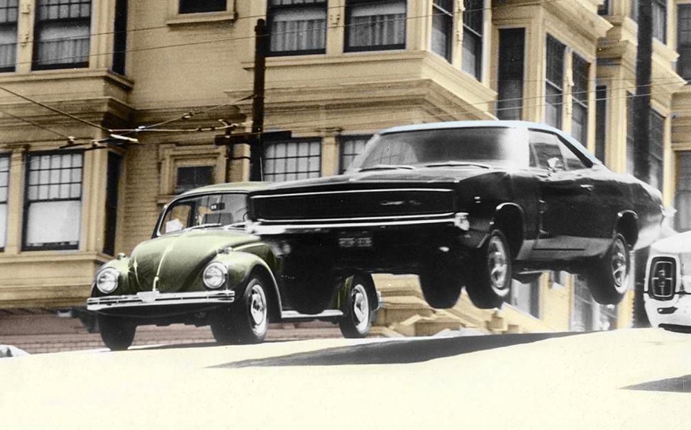 Pied Au Plancher Dans Les Rues De San Francisco Comme