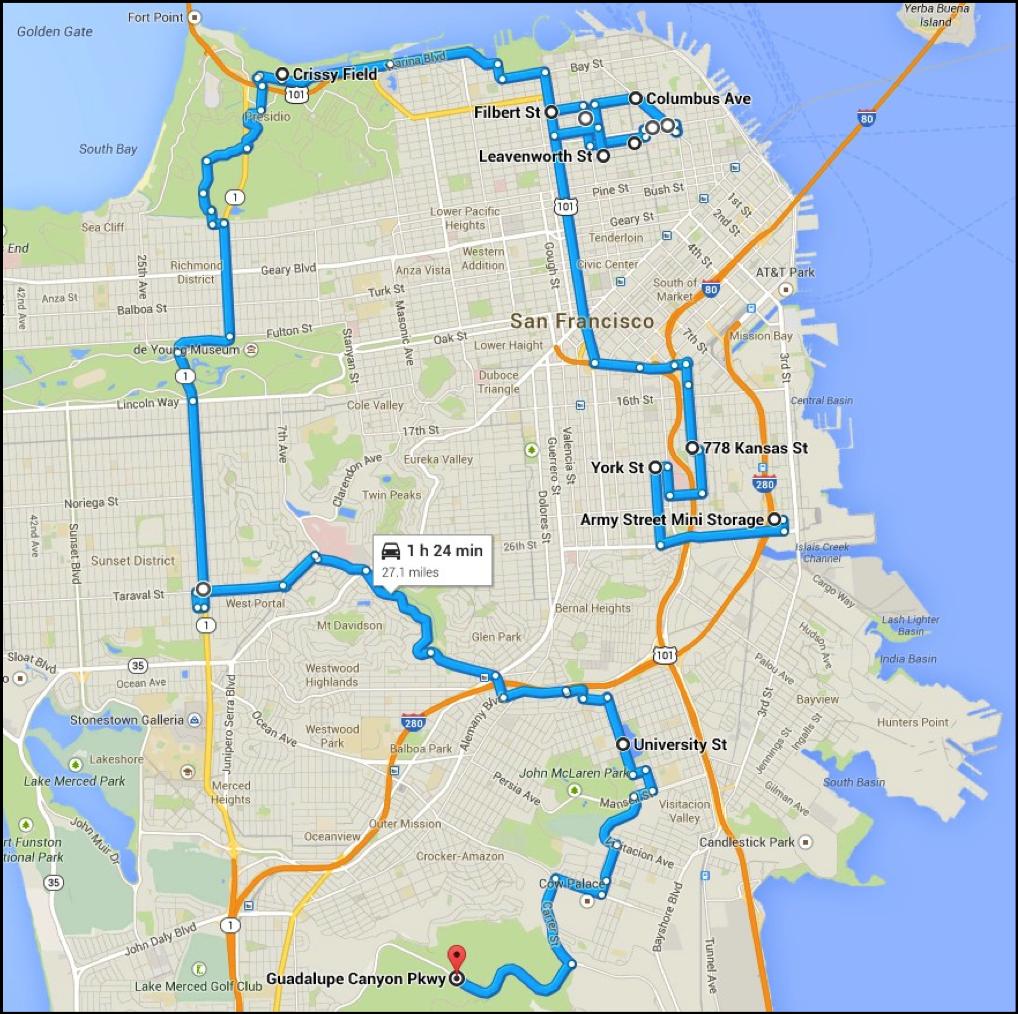 Bullitt-car-chase-map