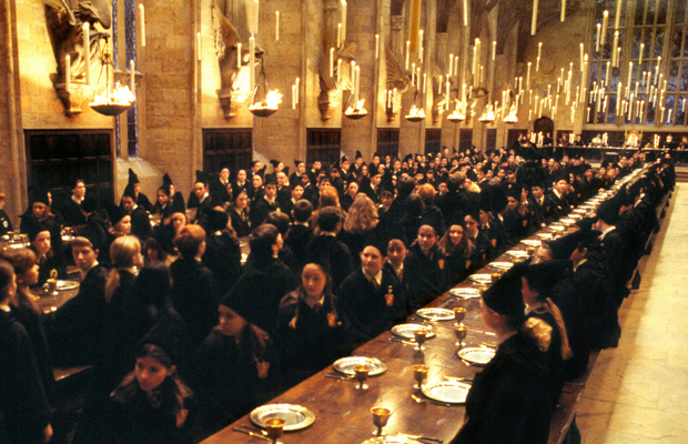 une fan d harry potter transforme sa salle manger en