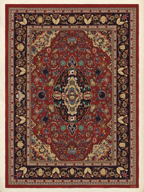 s acheter le tapis persan de the dude dans the big lebowski spotern. Black Bedroom Furniture Sets. Home Design Ideas